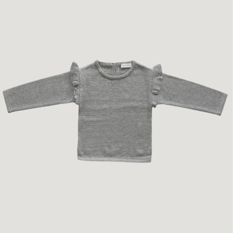 【Jamie kay】Flutter Knit - Grey