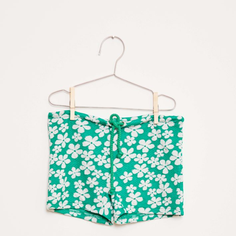 【fish&kids】こども GREEN FROWER SHORT