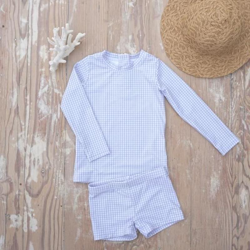 "【willow swim】""Harrison"" in Cloud Gingham"