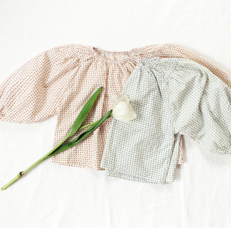 【bien abien】Ritten blouse - 2色