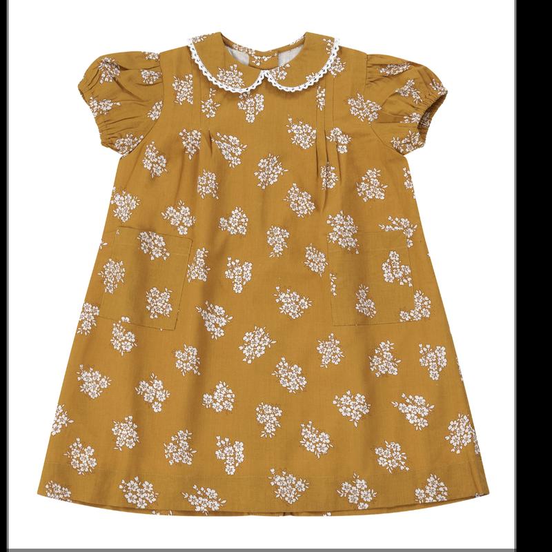 【little cotton clothes】Mimi dress ginger floral