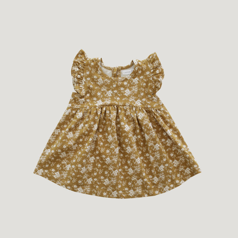 【jamiekay】Ada Dress - Golden Floral