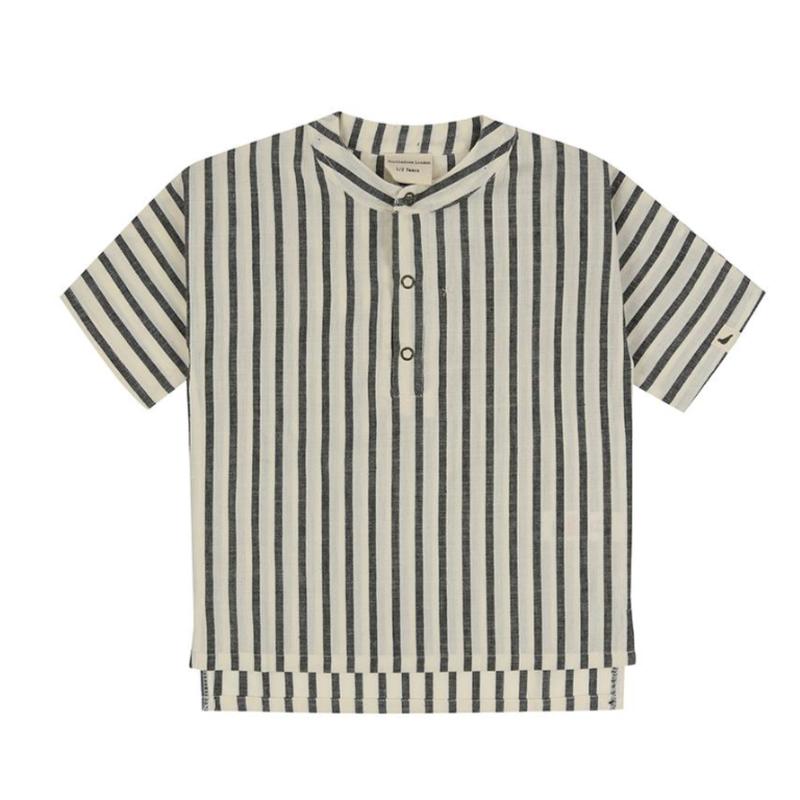 【turtledove london】Stripe Woven Shirt