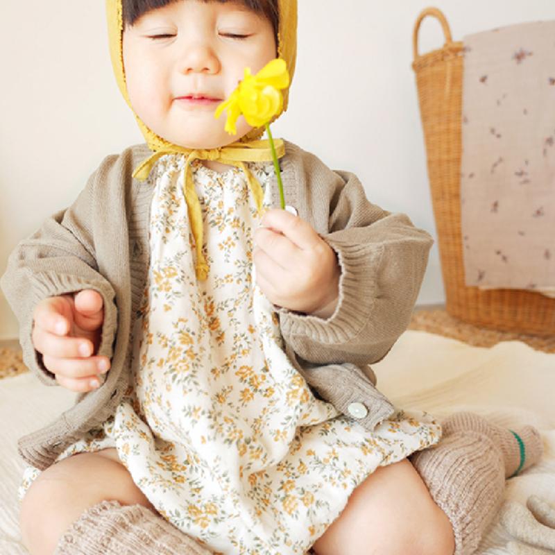 【bienabien baby】Vboxy puff cardigan