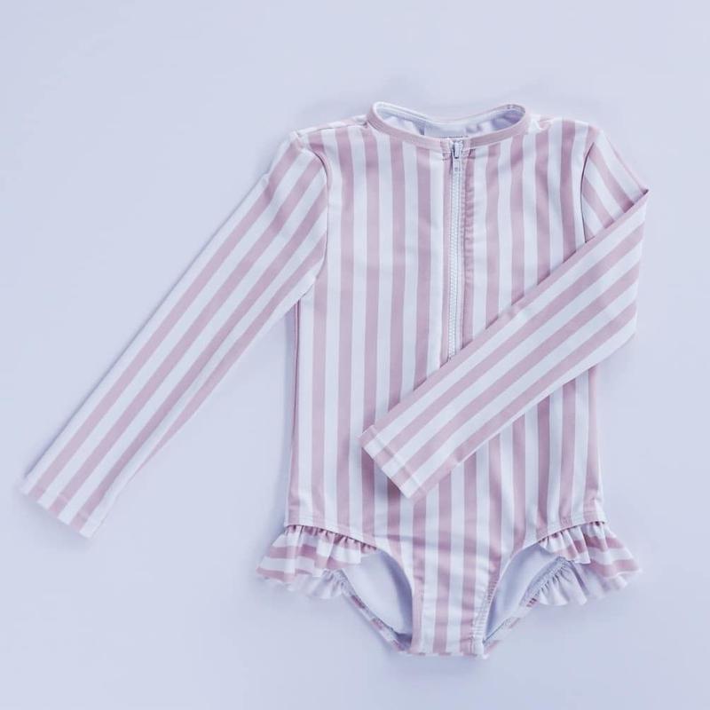 【willowswim】SOPHIA- stripe pink beige
