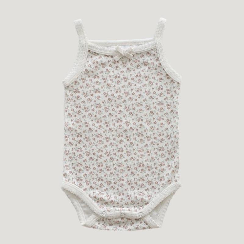 【Jamie kay】 Singlet Bodysuit - Nostalgia Floral