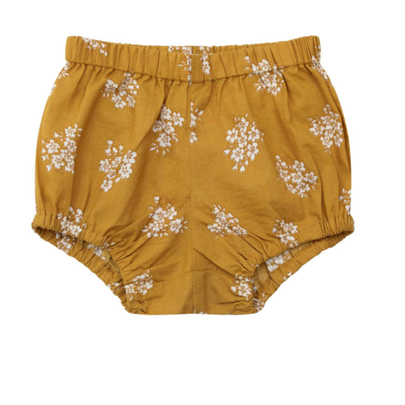 【little cotton clothes】poppy bloomer - delicate ginger floral
