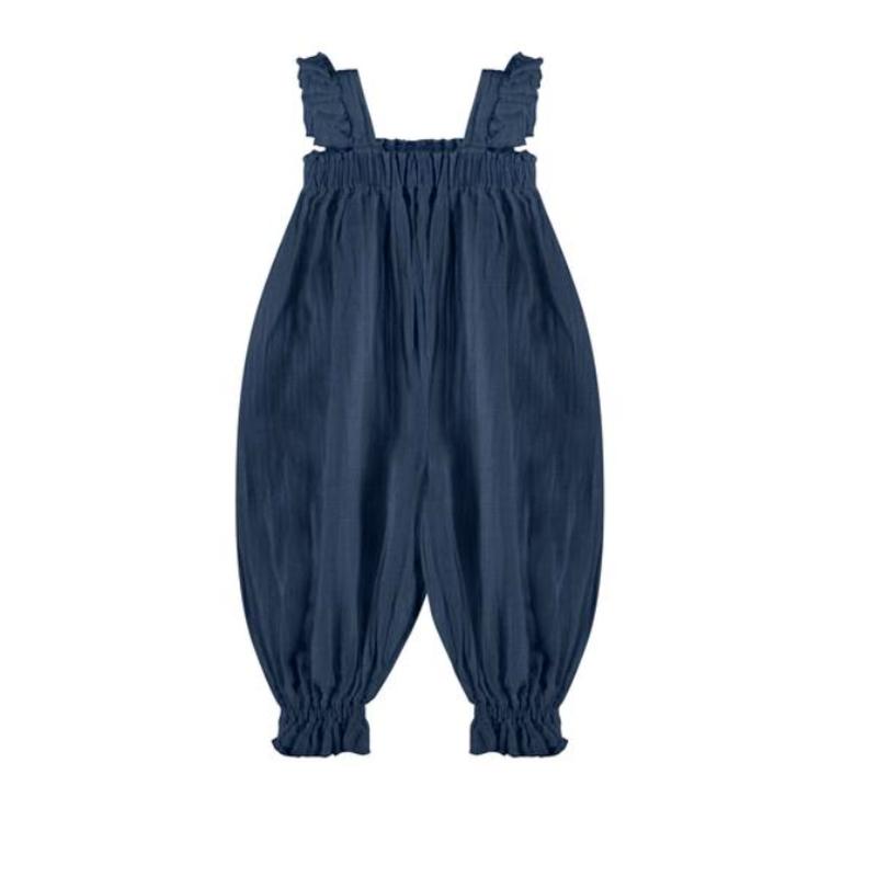 【liilu】mara overall - antra blue