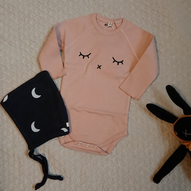 【organic zoo】SLEEPY  BODYSUIT CLAY