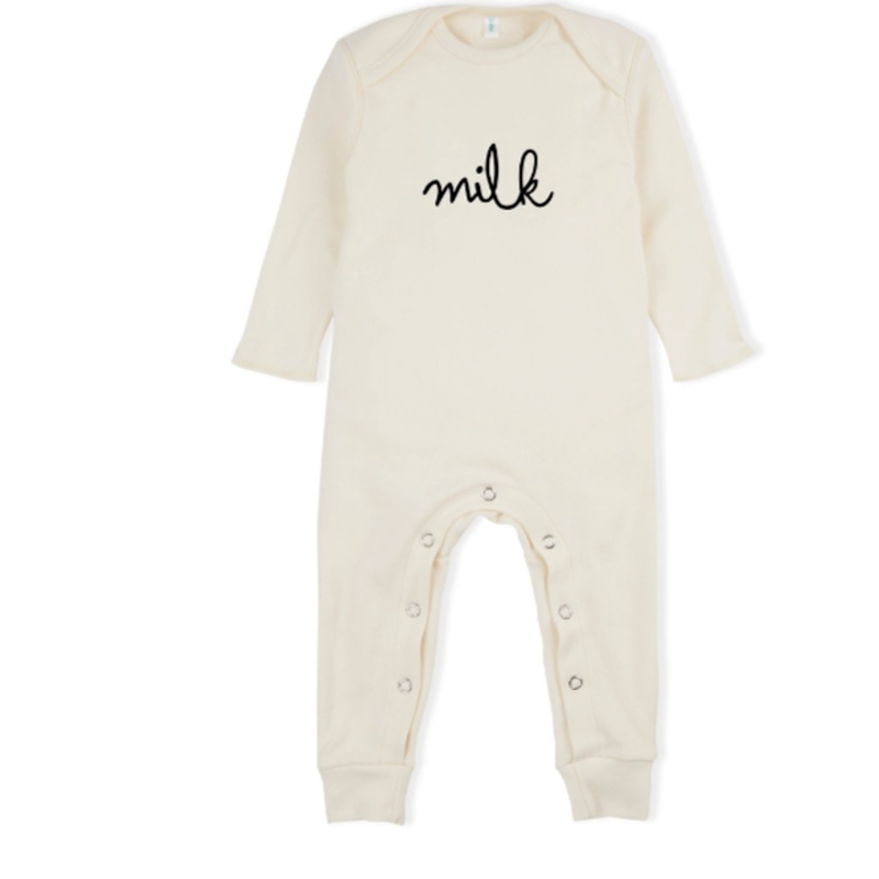 【organic zoo 】milk    natural playsuits