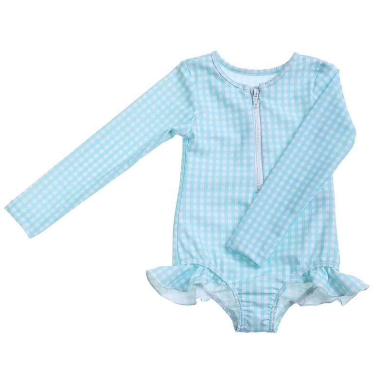 last 1【willowswim】SOPHIA-minty gingham