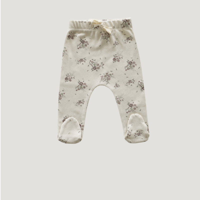 【Jamie kay】 Footed Pant - Forever Floral