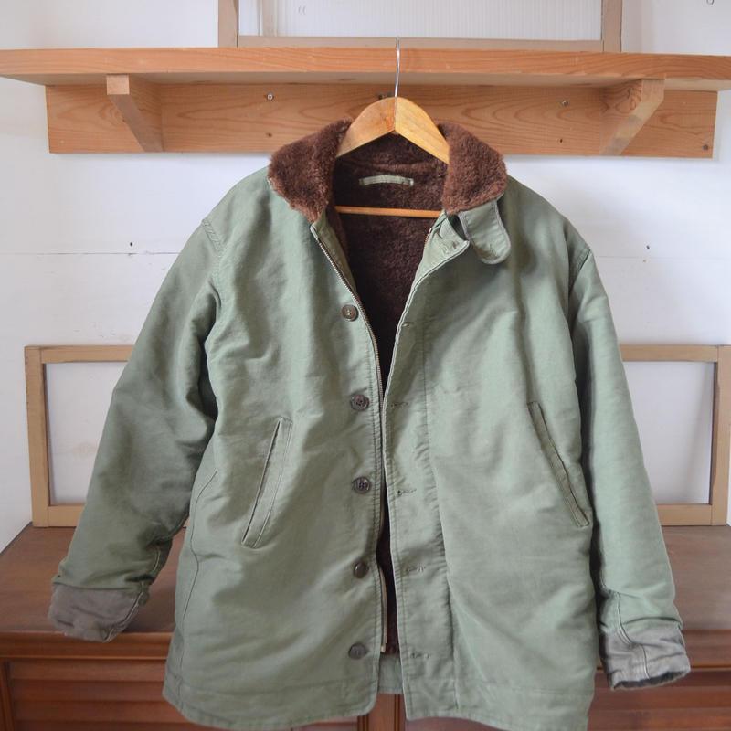 フランス軍実品60年代 フレンチネイビーデッキジャケット