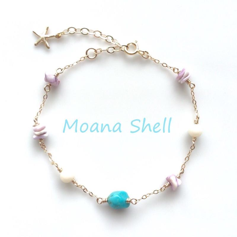 Moana Shell   The Beach Bracelet