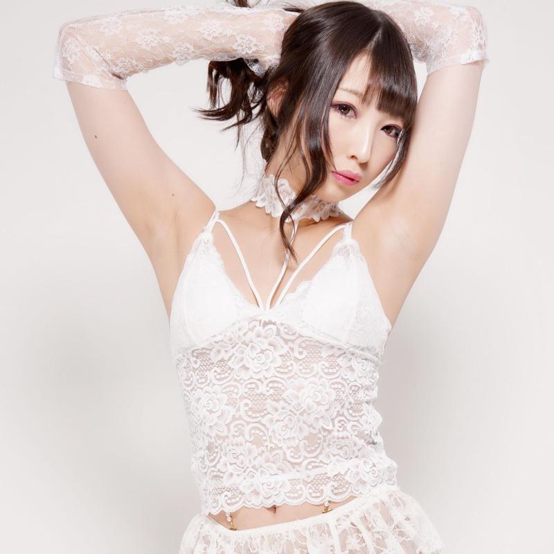 Dressy 4u/ Chokerレースブラトップ -white-