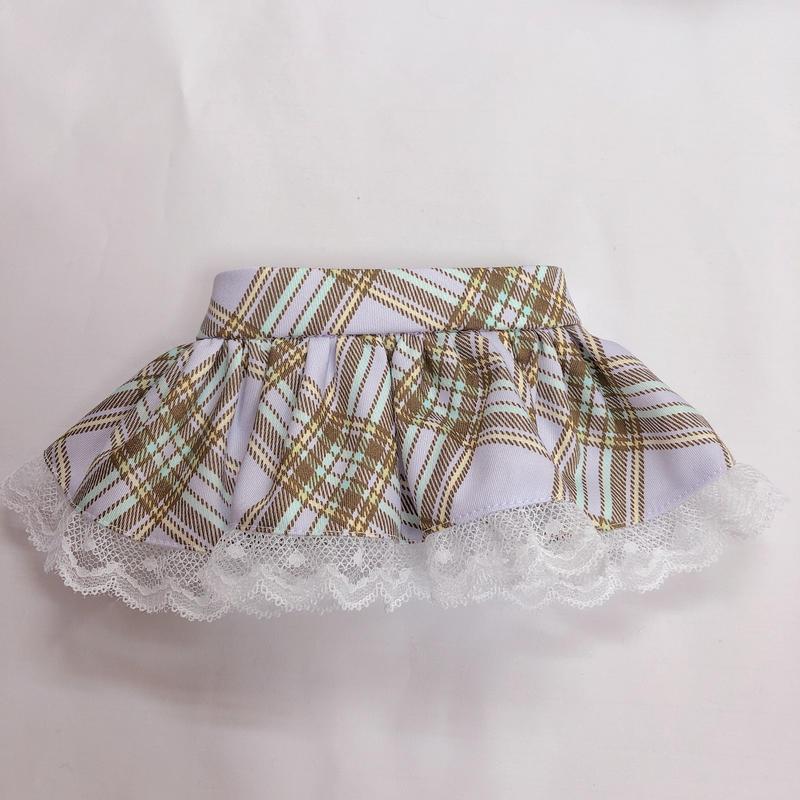 ♡ぐるみちゃん♡パープル♡スカート♡
