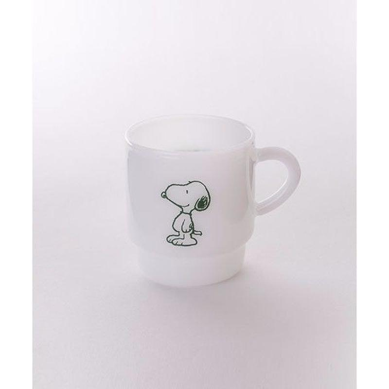 【MILKWARE】STACKING MUG SNOOPY 1