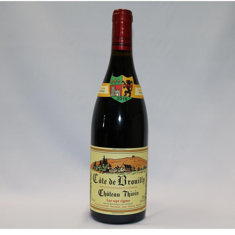 シャトー・ティヴァン キュヴェ・ザッカリー AOPコート・ド・ブルイィ2017/Chateau Thivin Cuvee Zaccharie AOP Cote de Brouilly 2017