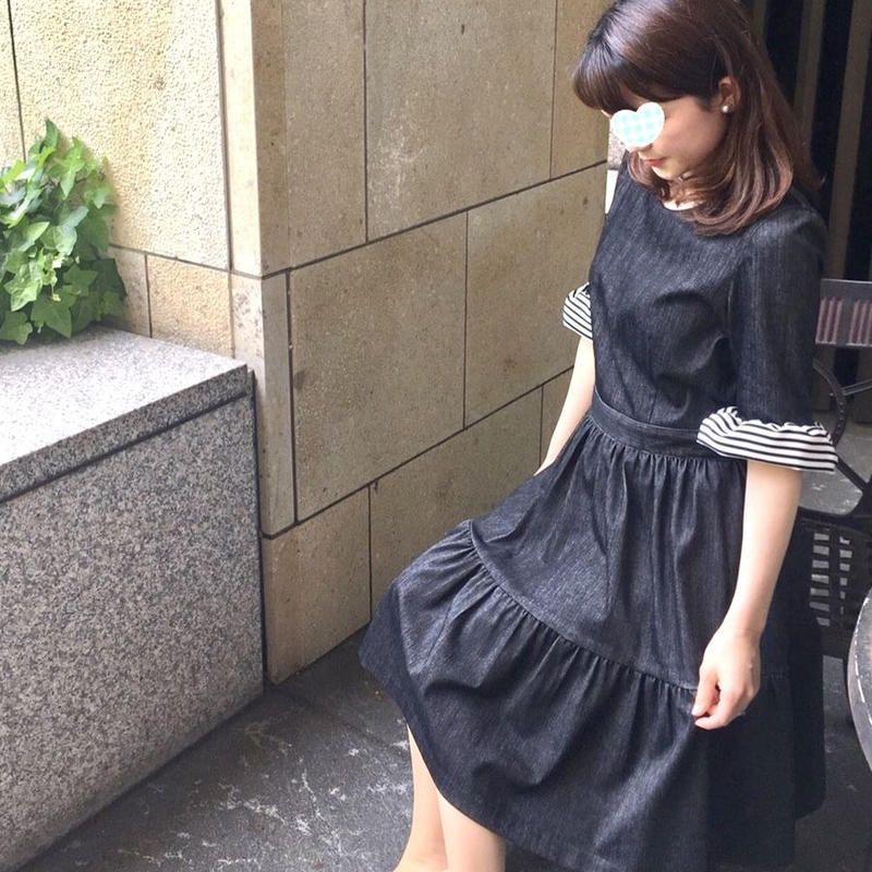 Lady Border Dress