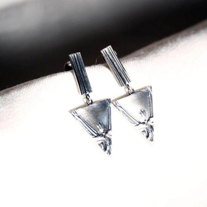 Vintage cutlery swing pierced / sankaku