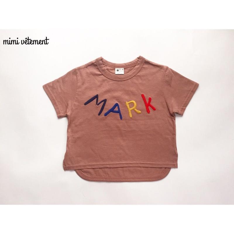 MARCロゴTシャツ