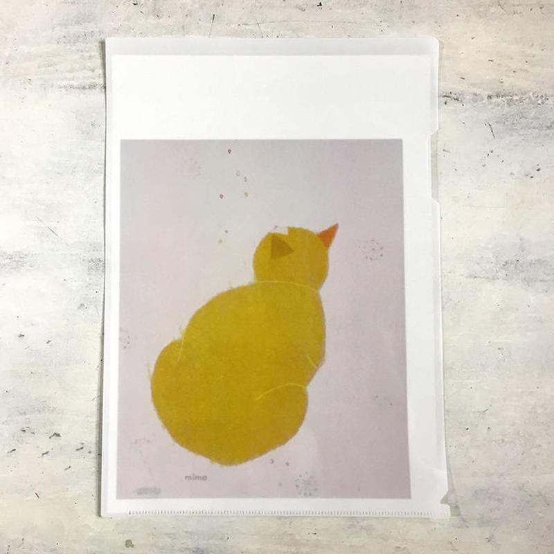 クリアファイル fortune cat