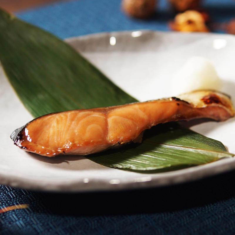 鮭[醤油付け]6切