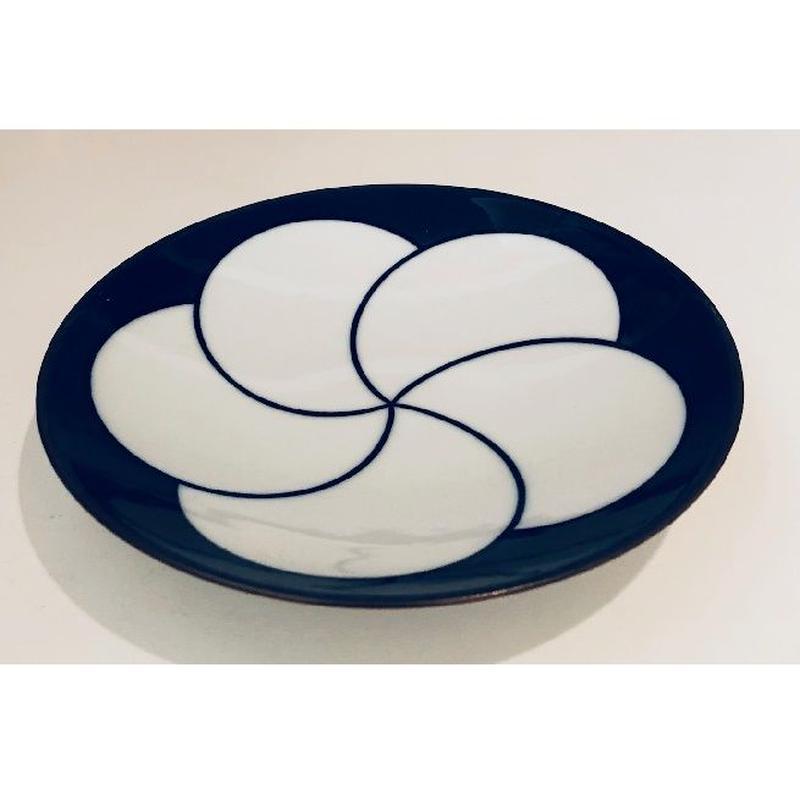 【ねじり梅 小】【白山陶器】【5寸和皿】【波佐見焼】 品番:4695535