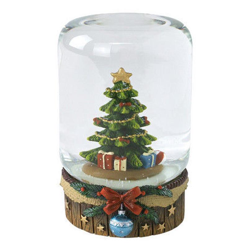 クリスマス スノードーム ツリー