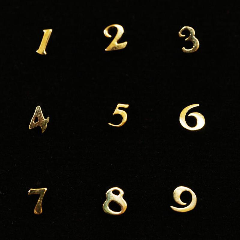 ゴールドピアス ナンバー K18
