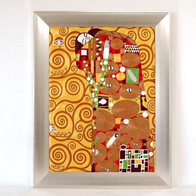 刺繍絵画(82.5×106) クリムト 商品番号:is1087-rw-08