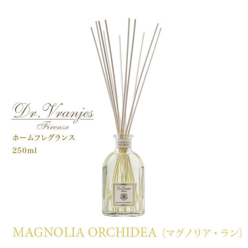 Dr. Vranjes(ドットール・ヴラニエス)ルームフレグランス MAGNOLIA ORCHIDEA〔マグノリア・ラン〕 250ml
