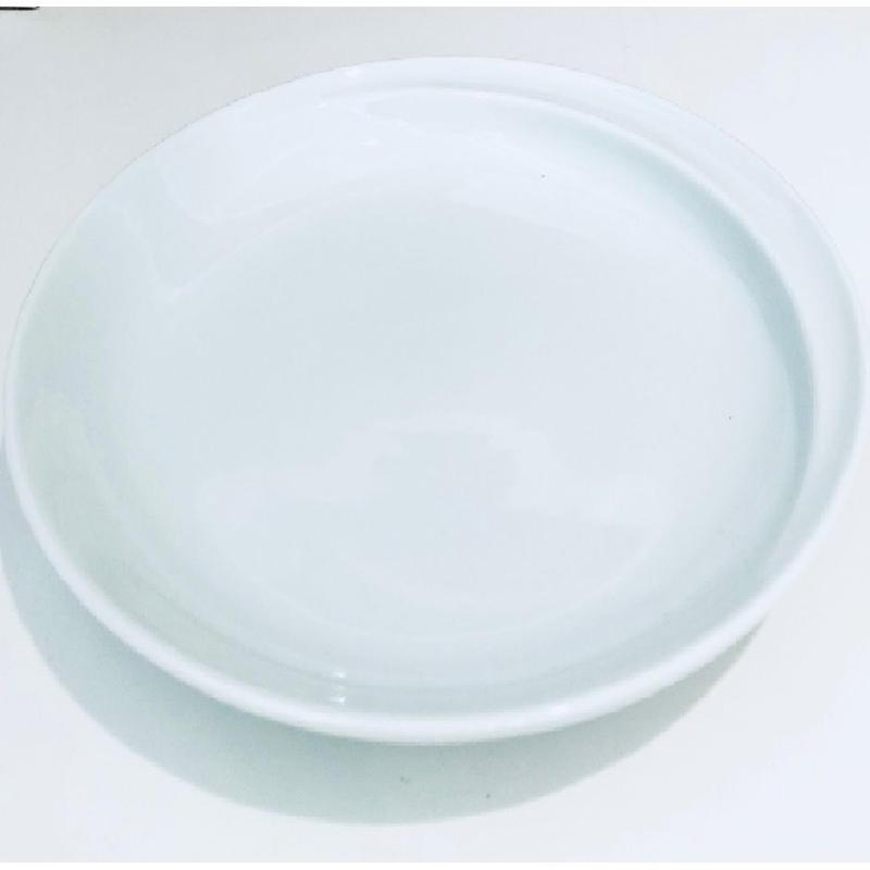 【プレート小・白】【コモCOMMO】【波佐見焼】18.5cm 高さ3cm 330g 品番:cm-4403977