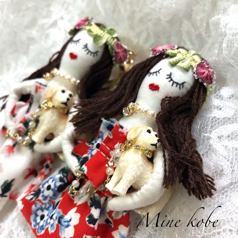 dog rocogirl doll charm
