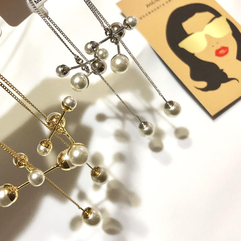 fourth pearl drop pierce