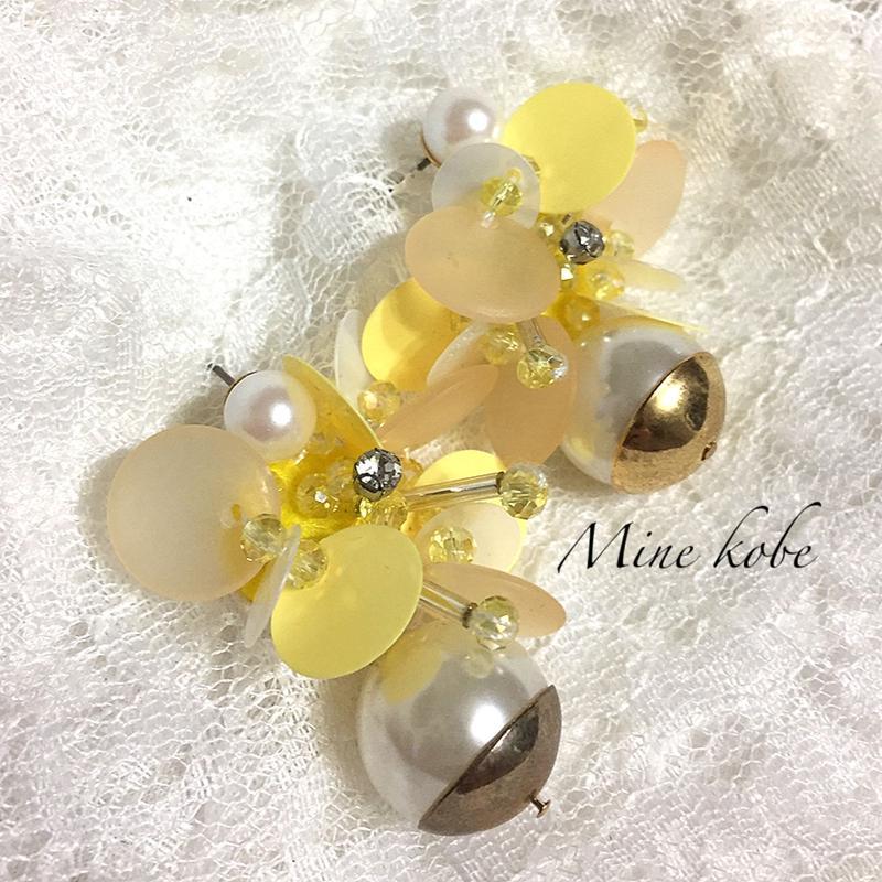 beads pearl span pierce