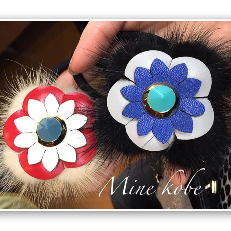 flower fur hair  gom