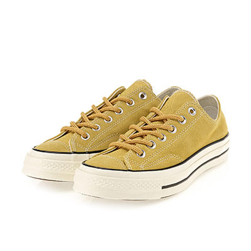 [CONVERSE] CHUCK TAYLOR ALL STAR 1970`s LOW Suede  Desert Marigold 162374C