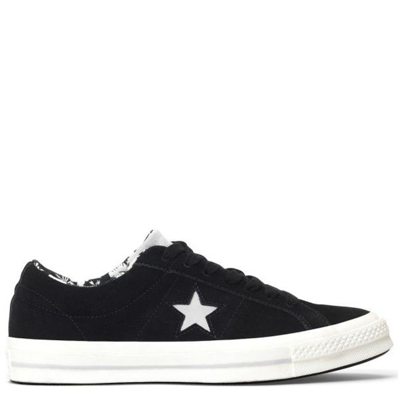 CONVERSE ONE STAR TROPICAL FEET LOW TOP Black 160584C