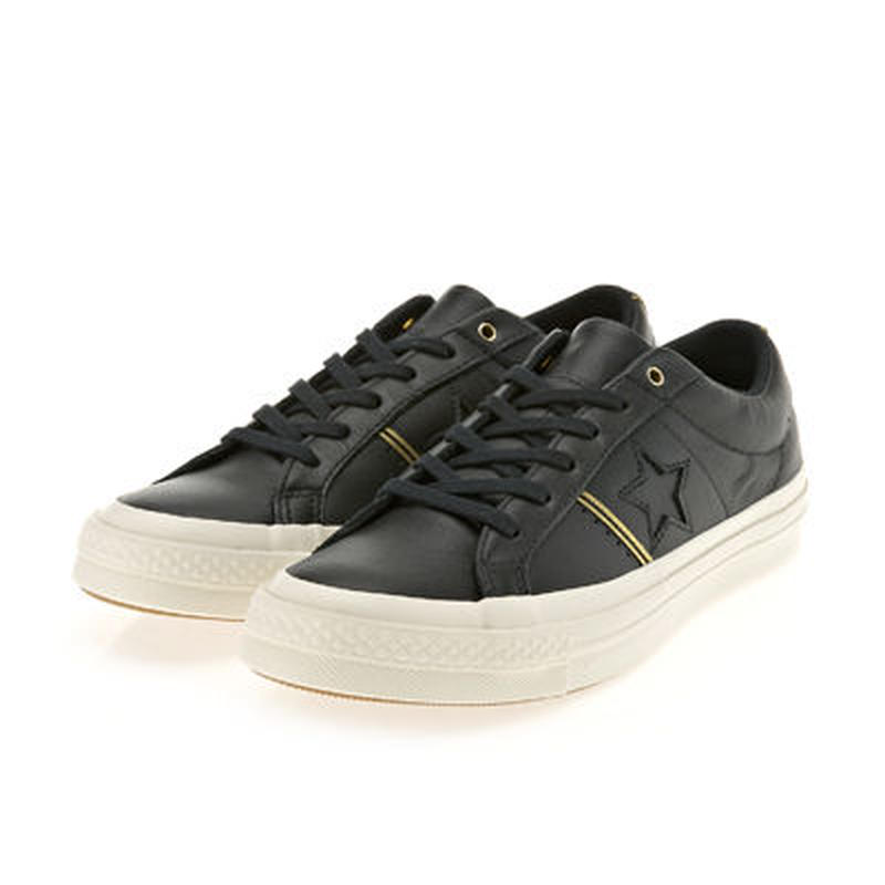 Converse ONE STAR OX BLACK LEATHER 159701C