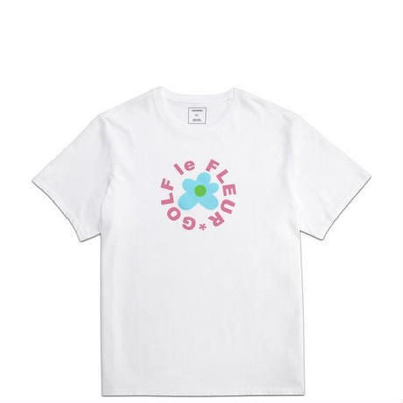 ONE STAR x GOLF LE FLEUR T-SHIRT - White