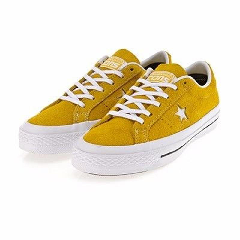 CONS One Star Hairy Suede YELLOW 153064C