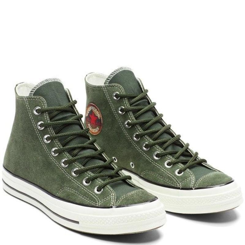 [CONVERSE] CHUCK TAYLOR ALL STAR 1970`s Hi Suede KHAKI  162371C (税込み.送料無料)