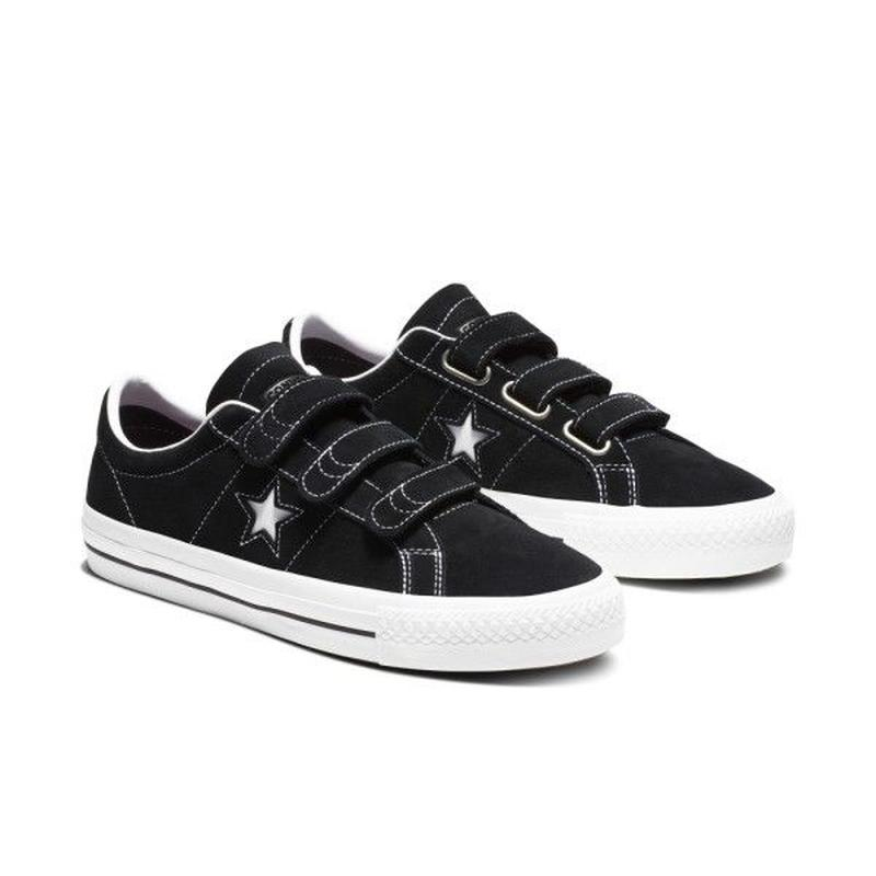 CONVERSE ONE STAR PRO 3V  BLACK 162518C