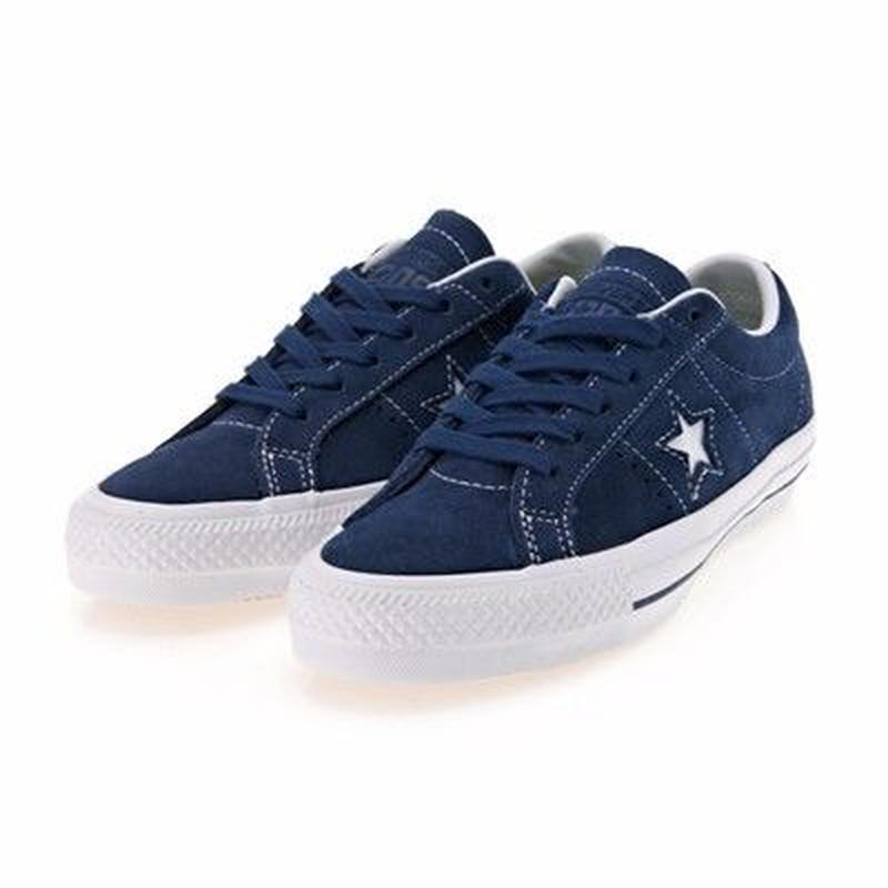 CONS One Star Pro Hairy Suede-NAVY 149867C