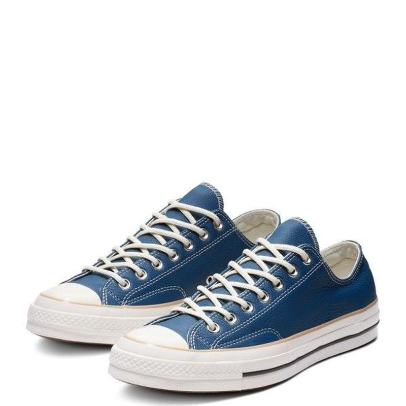 [CONVERSE] CHUCK TAYLOR ALL STAR 1970`s low boots Leather Mason blue 162396C