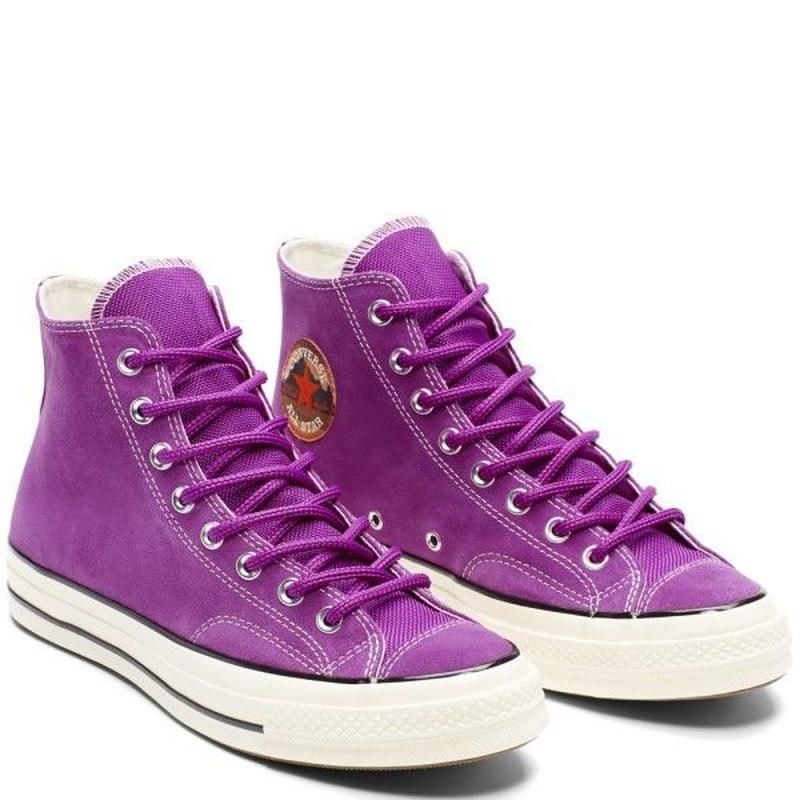 [CONVERSE] CHUCK TAYLOR ALL STAR 1970`s Hi Suede ICON VIOLET 162369C (税込み.送料無料)
