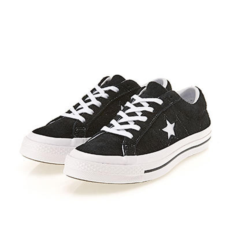 ONE STAR  SUEDE BLACK 158369C