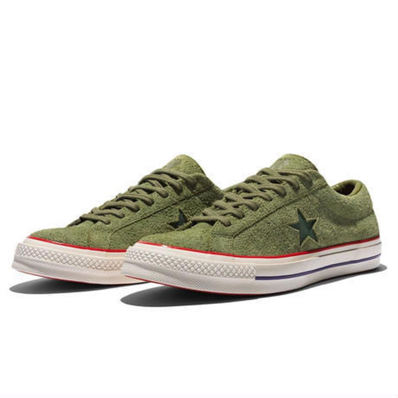 UNDEFEATED X CONVERSE ONE STAR OX (Olive)158894C