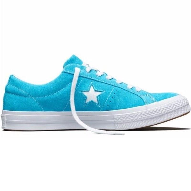 ONE STAR CLASSIC SUEDE Fresh Cyan 158437C